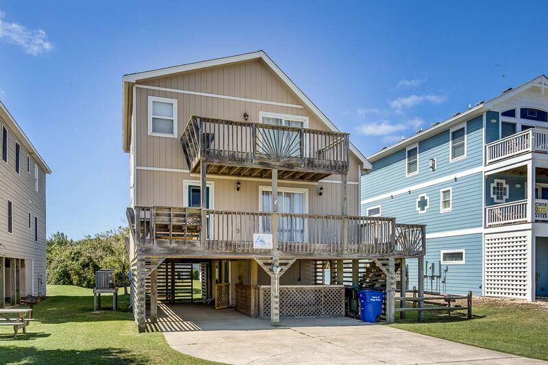 My flip flop retreat nags head vacation rentals outer for Flip flop real estate