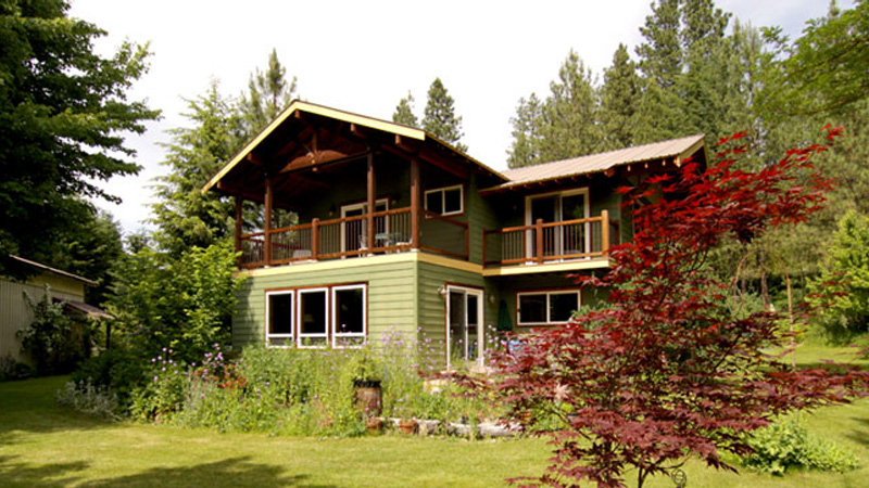 Destination leavenworth vacation rental homes lodges for Leavenworth cabin rentals