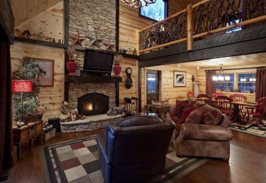 Blue Sky Cabin Rentals Majestic Hideaway In Gilmer Blue