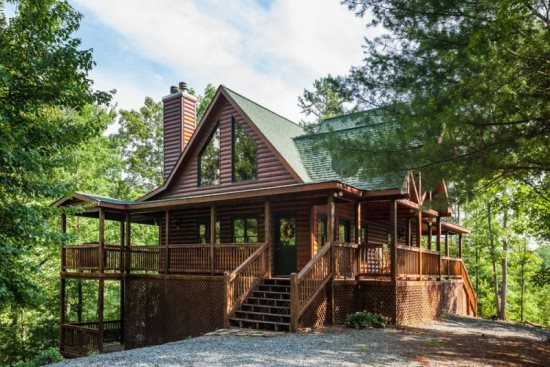 rentals cabin home mountain cabins incredible in rental majesty luxury lakeside oasis ga north vacation asp vacations