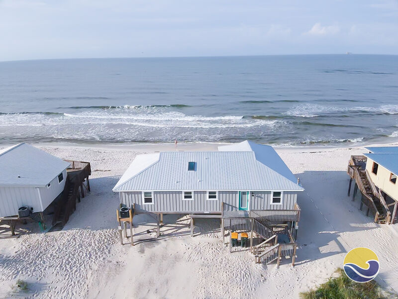 187 Stuck In The Sand Beach Front House Rental In Fort Morgan Alabama