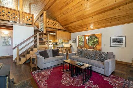 Creekside Cabin on St. Bernard photo